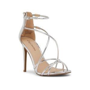 Sexy Zigi Soho Blaker Silver stilettos